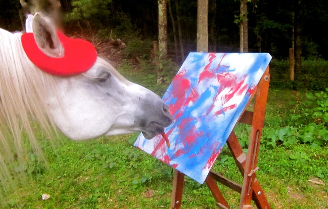 Justin Tyme's Works of Art ~ Horse Talk Magazine