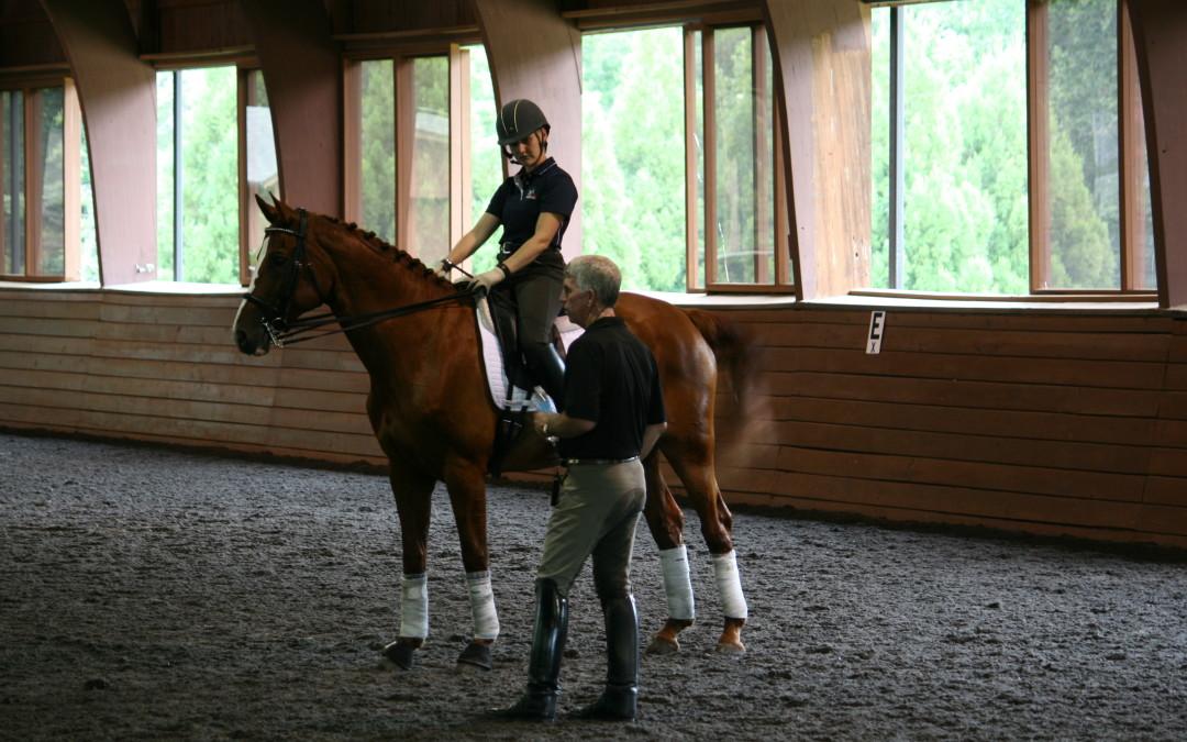 George Williams Dressage Clinic  ~ Horse Talk Magazine