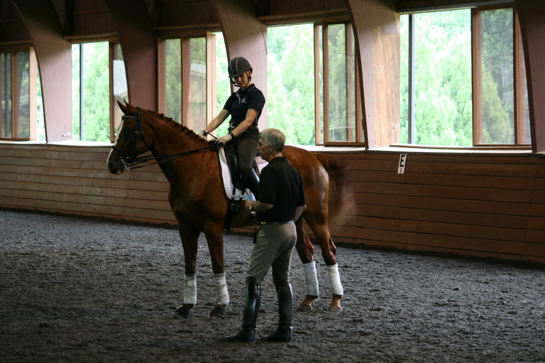 George Williams Dressage Clinic  ~ Horse Talk Magazine